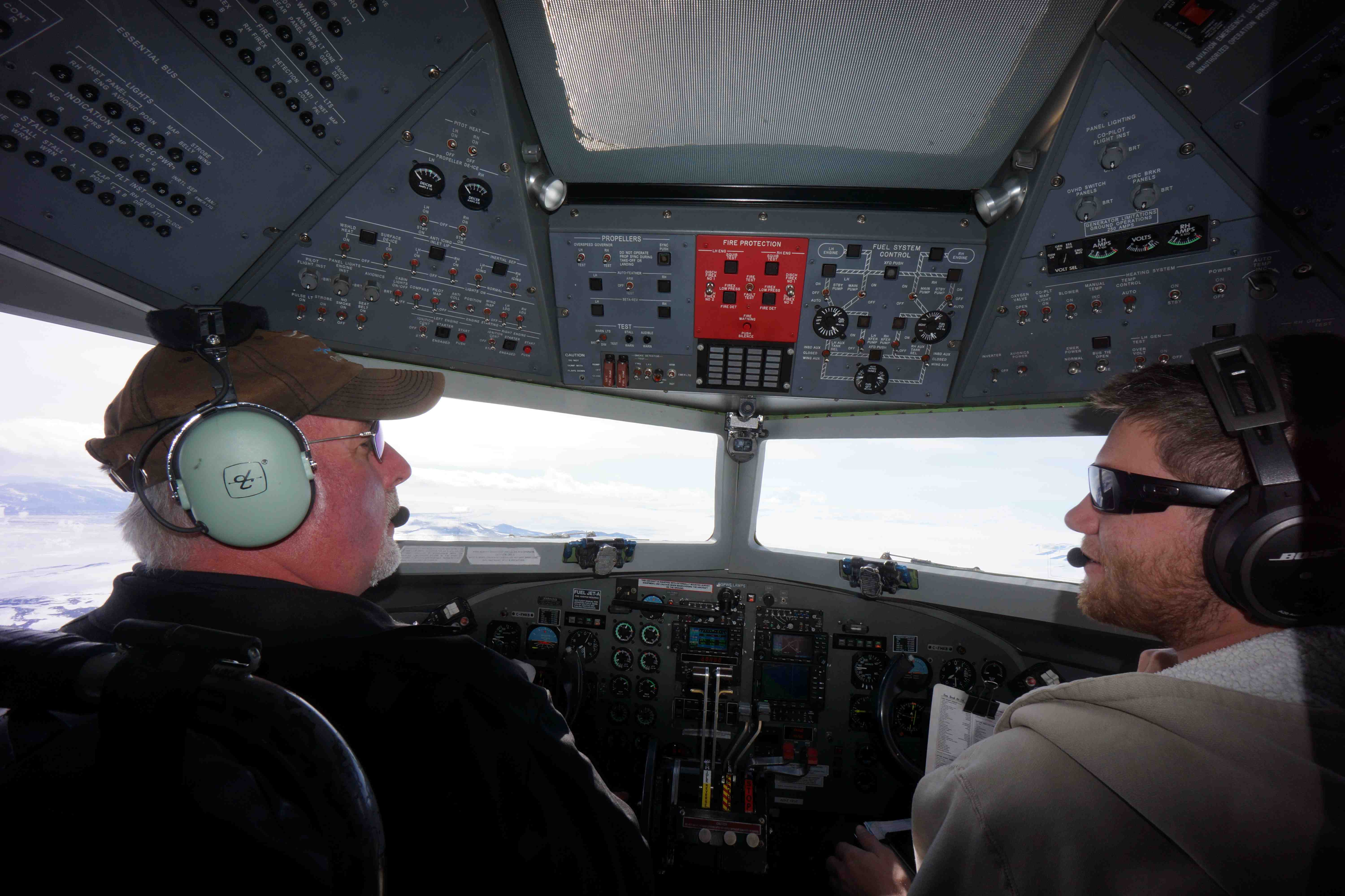 Kevin and John, our pilots last season
